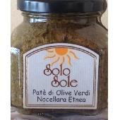Patè de Aceitunas verdes Nocellara Etnea - SoloSole