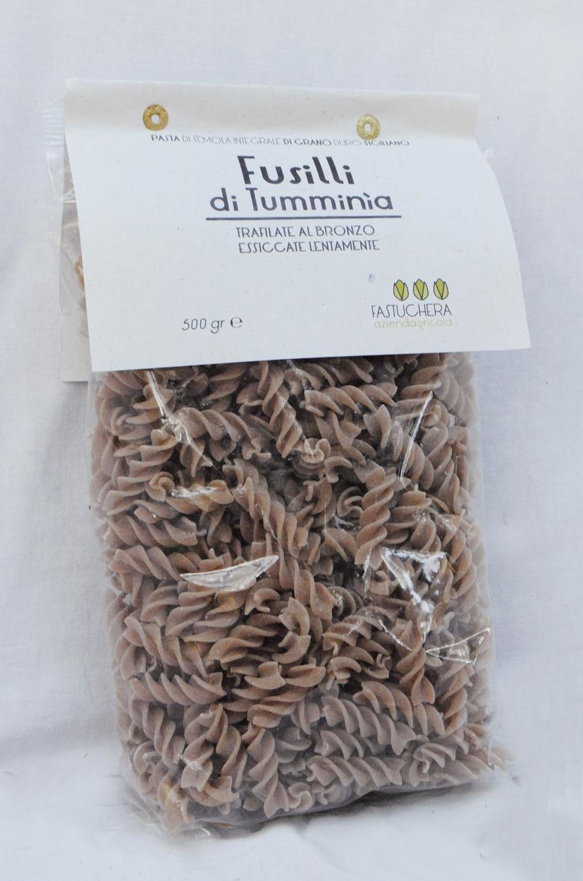 Fusilli di grani antichi - semola di grano duro Russello bio 500 gr.