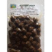 Aceitunas Negras sazonadas orgánicas sin carozo - Az.Agricola Melia