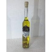 Condimento aromatizado con trufa negra hecha con aceite de oliva virgen extra con copos de trufa. - Tartufi Dominici