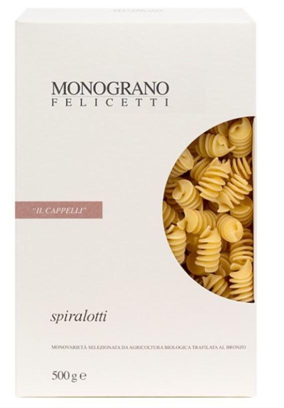 Spiralotti monograno Senatore Cappelli - Pastificio Felicetti