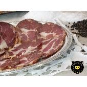 Capocollo de cerdo negro