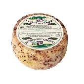 Caciotta mezcla leche de ganado y oveja con orujo Valmetauro -  Formaggi tre Valli