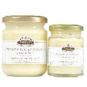 Especialidades gastronómicas de tartufo blanca a base de mantequilla