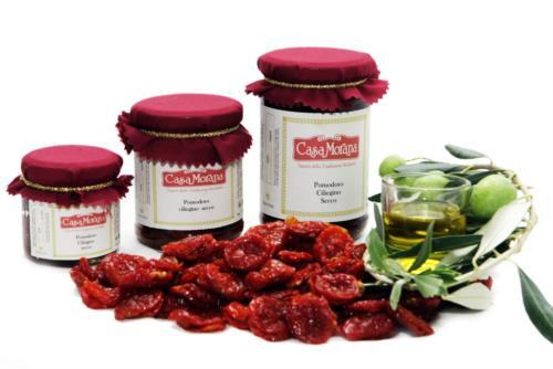 Tomates cherry secos en oliva Casa Morana