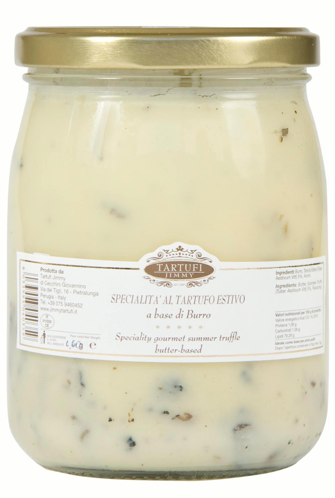 Especialidades gastronómicas de Tartufo de verano a base mantequilla