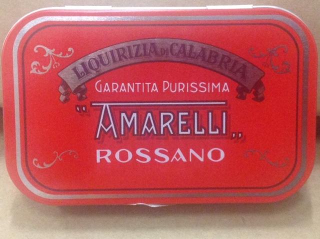 Liquirizia Amarelli Spezzatina 'Rossa'