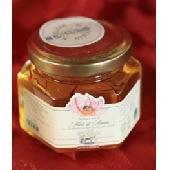 Preparado a base di miel de acacia con Azafrán di San Gimignano DOP - IL Vecchio Maneggio