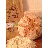 Pan Biológico con Harina  de 5 Cereales Cocción a leña