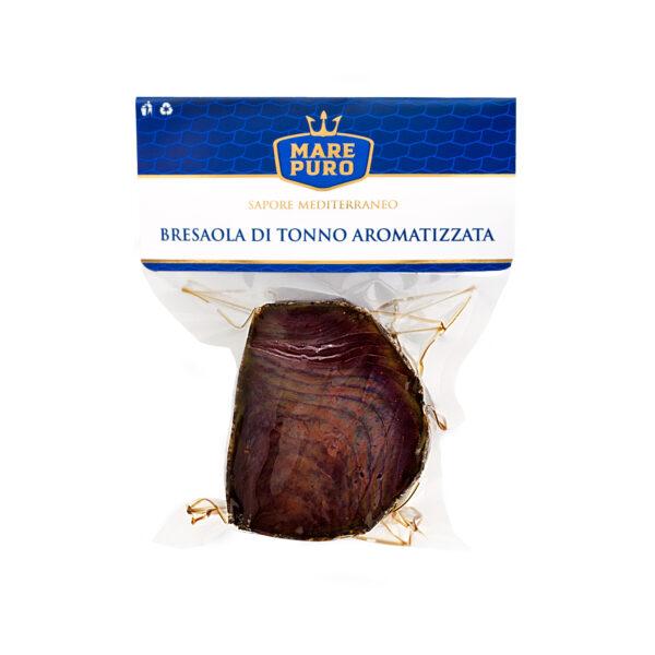 Bresaola de at�n aromatizada a la pimienta negra