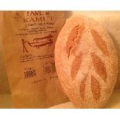 Pan Biol�gico con harina de Kamut cocci�n a le�a