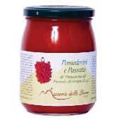 Puré de tomatitos Piennolo del Vesuvio D.o.p. - frasco de vidrio