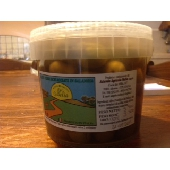 Aceitunas verdes sicilianas Nocellara del belice en salmuera - Az. Agricola Melia