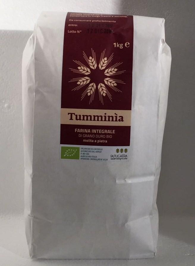 Harina integral  de Tummìnia Bio  - Az. Agricola Fastuchera