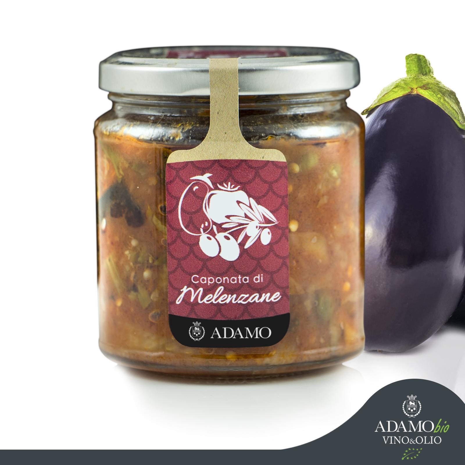 Caponata Siciliana - Empresa Agricola Biologica Adamo