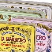 Caja con turr�n desmenuzable con avellanas del PiamonteI.G.P. - Torronificio Barbero