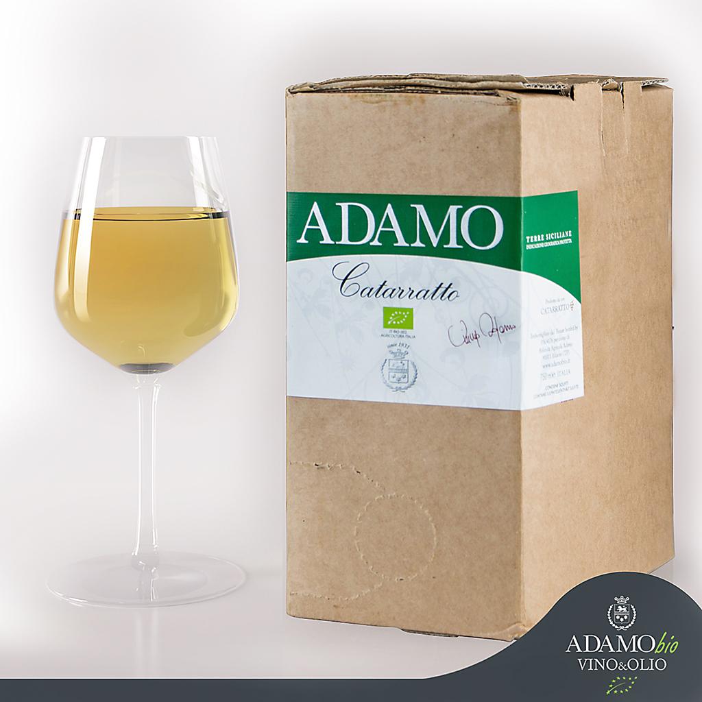 Bag de 5 Lt.  'Blanco Biol�gico' Terre Siciliane IGP  - �Adamo