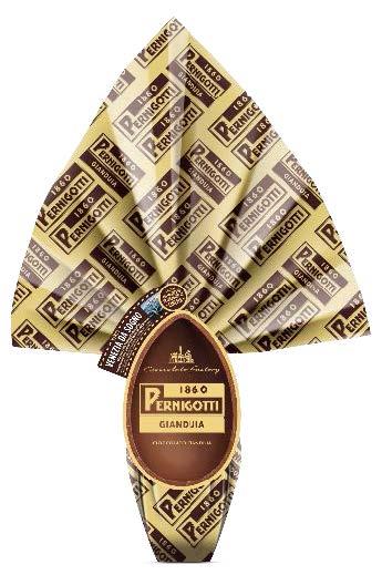 Huevo de pascua  de chocolate Gianduia - Pernigotti