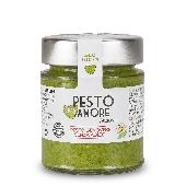 Pesto fresco genoves sin ajo con parmesano reggiano 25 meses- Pexto per Amaro