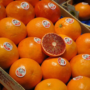 Jugo PGI rojo naranja Sicilia
