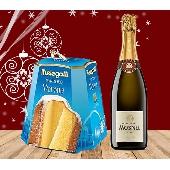 CHRISTMAS GREETINGS PACKPandoro Melegatti - 1 kg. Franciacorta DOCG Brut Il Mosnel - 1 bottiglia
