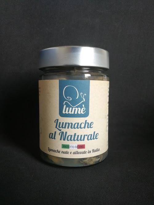 Caracoles al natural - Lumé