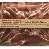 Jam�n crudo 36 meses de cerdo negro - Artigiani di Bottega